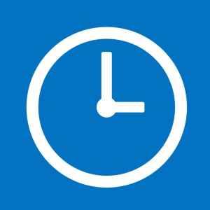 Symbolbild Uhr und Öffnungszeiten