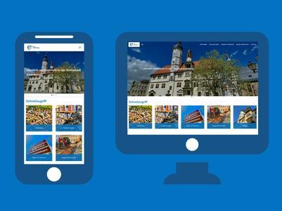 Symbolbild zur Website der Stadt Eisenberg