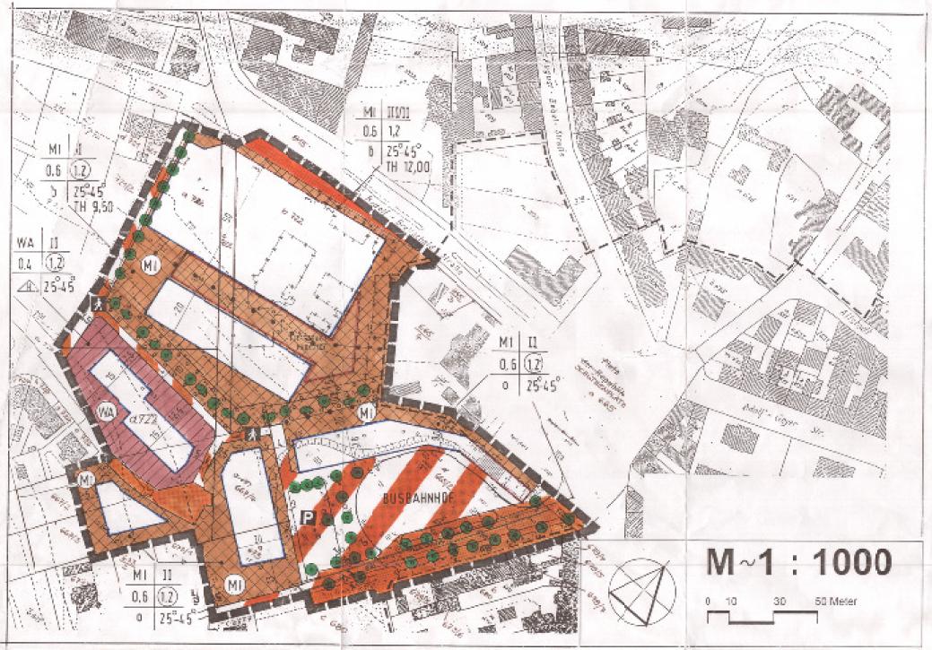 Bebauungsplan Innenstadt/ Busbahnhof