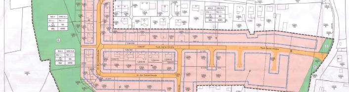 Bebauungsplan Wohngebiet Die Siebenfreude Eisenberg Zweite Änderung