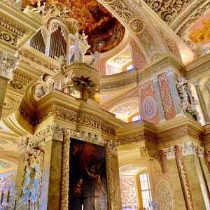 Innenansicht der Schlosskirche