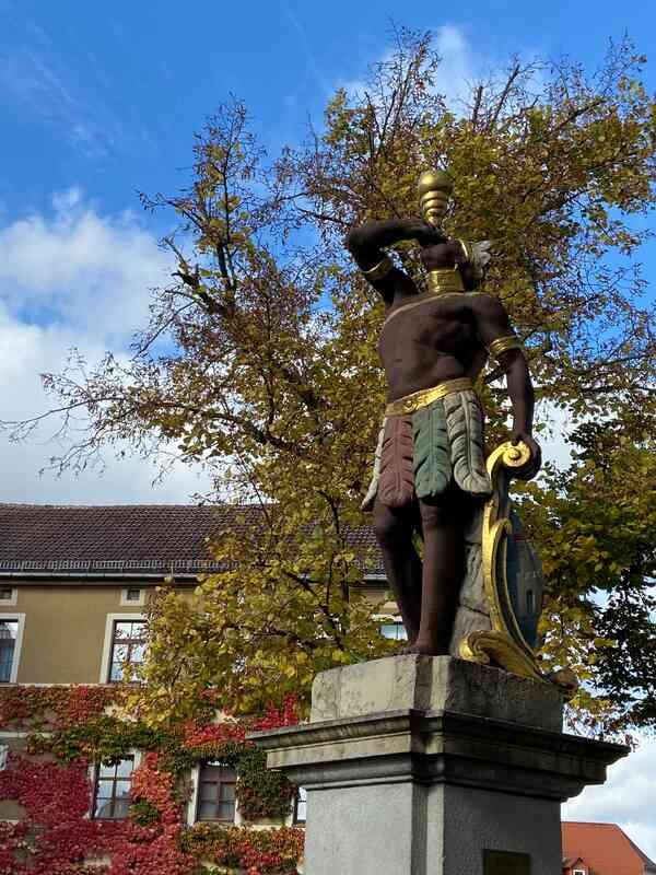 Mohrenbrunnen im Herbst
