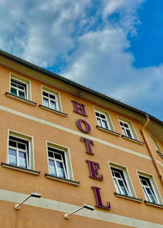 Hotel in der Eisenberger Innenstadt