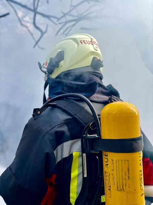 Feuerwehr im Brandeinsatz