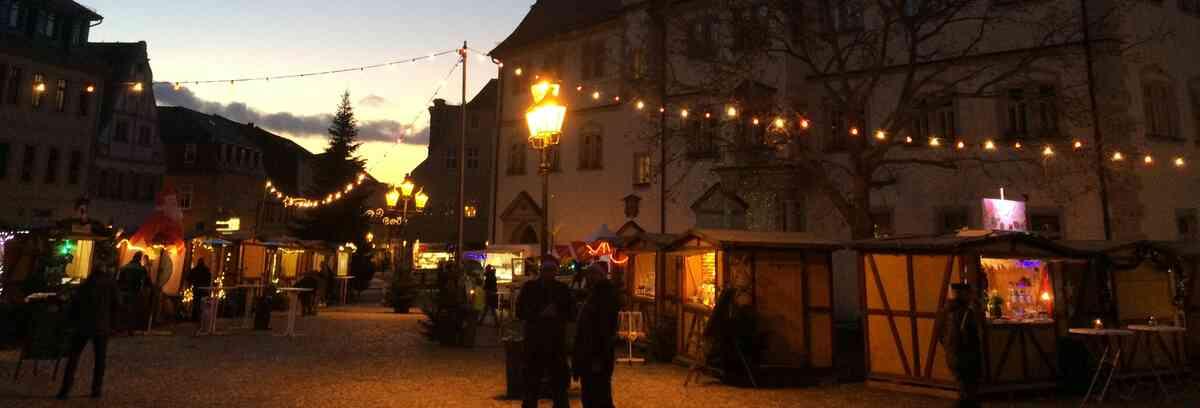 Nachtweihnachtsmarkt