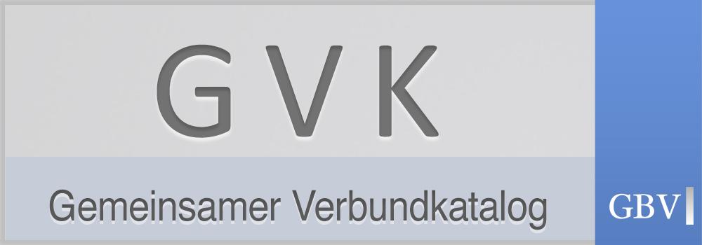 Logo GVK Verbundkatalog