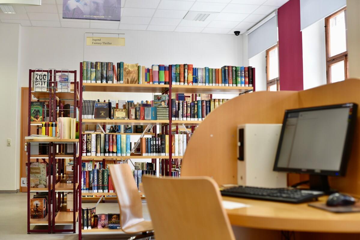 Innenansicht der Stadtbibliothek