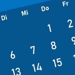 Symbolbild Kalender