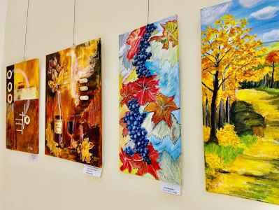 Kunstausstellung im Rathausfoyer