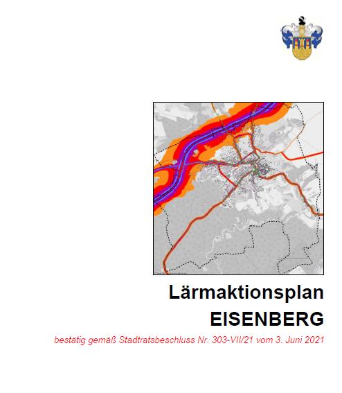 Titelbild des Berichtes zum Lärmaktionsplan