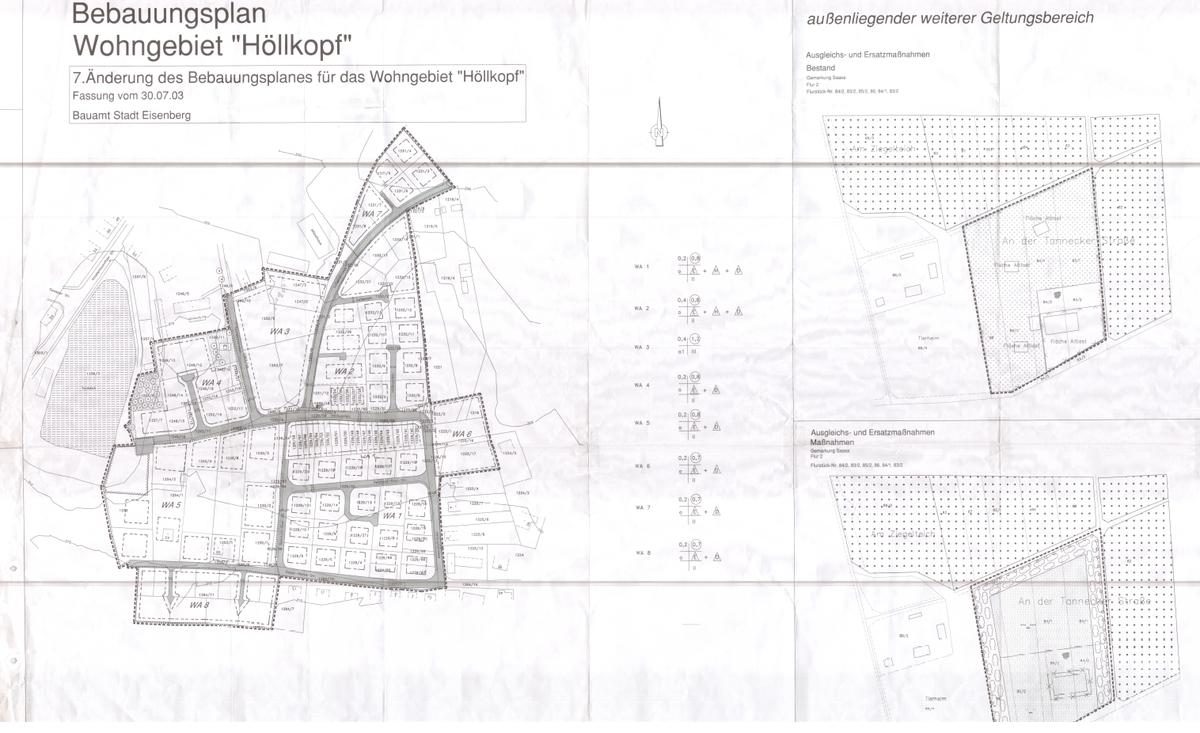 Bebauungsplan Wohngebiet Höllkopf Siebte Änderung