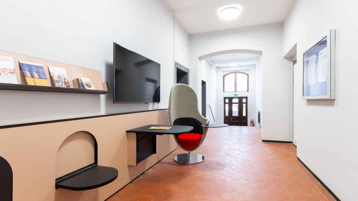 Innenansicht der Kreisvolkshochschule Saale-Holzland e.V.